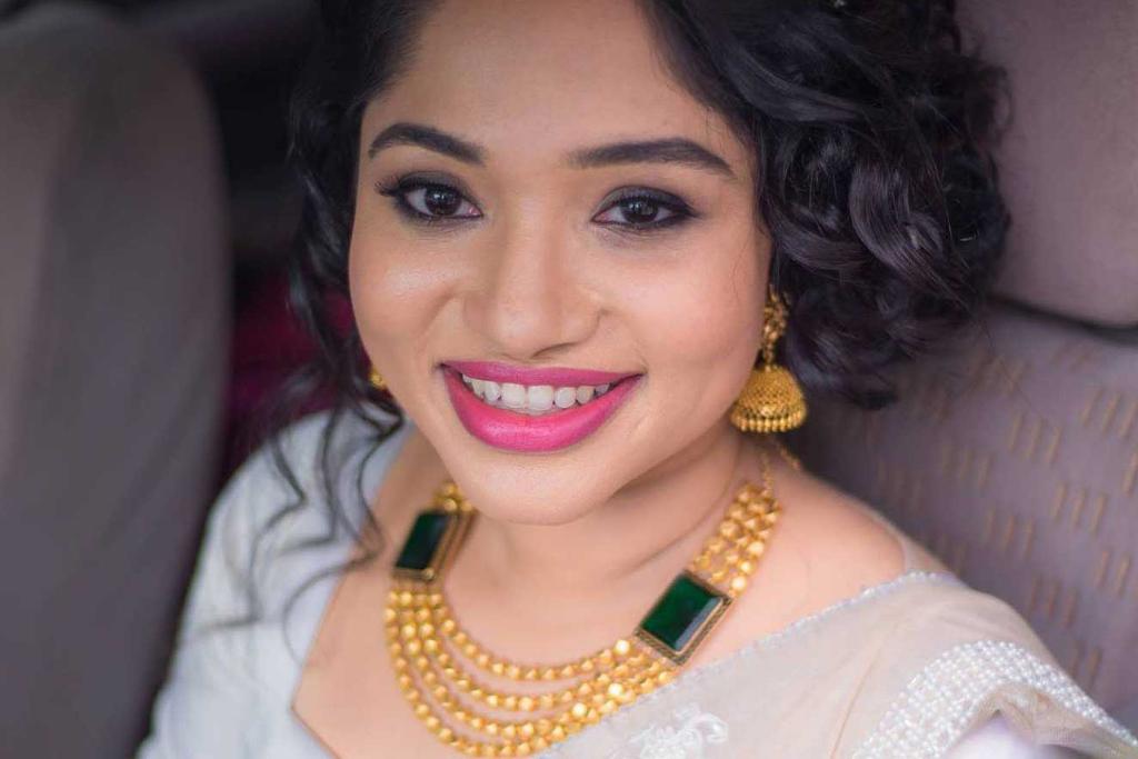 Athira Babu Christian Bride